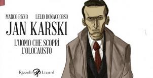 """""""Jan Karski"""" la graphic novel su """"l'uomo che scoprì l'Olocausto"""" in mostra a Trapani"""
