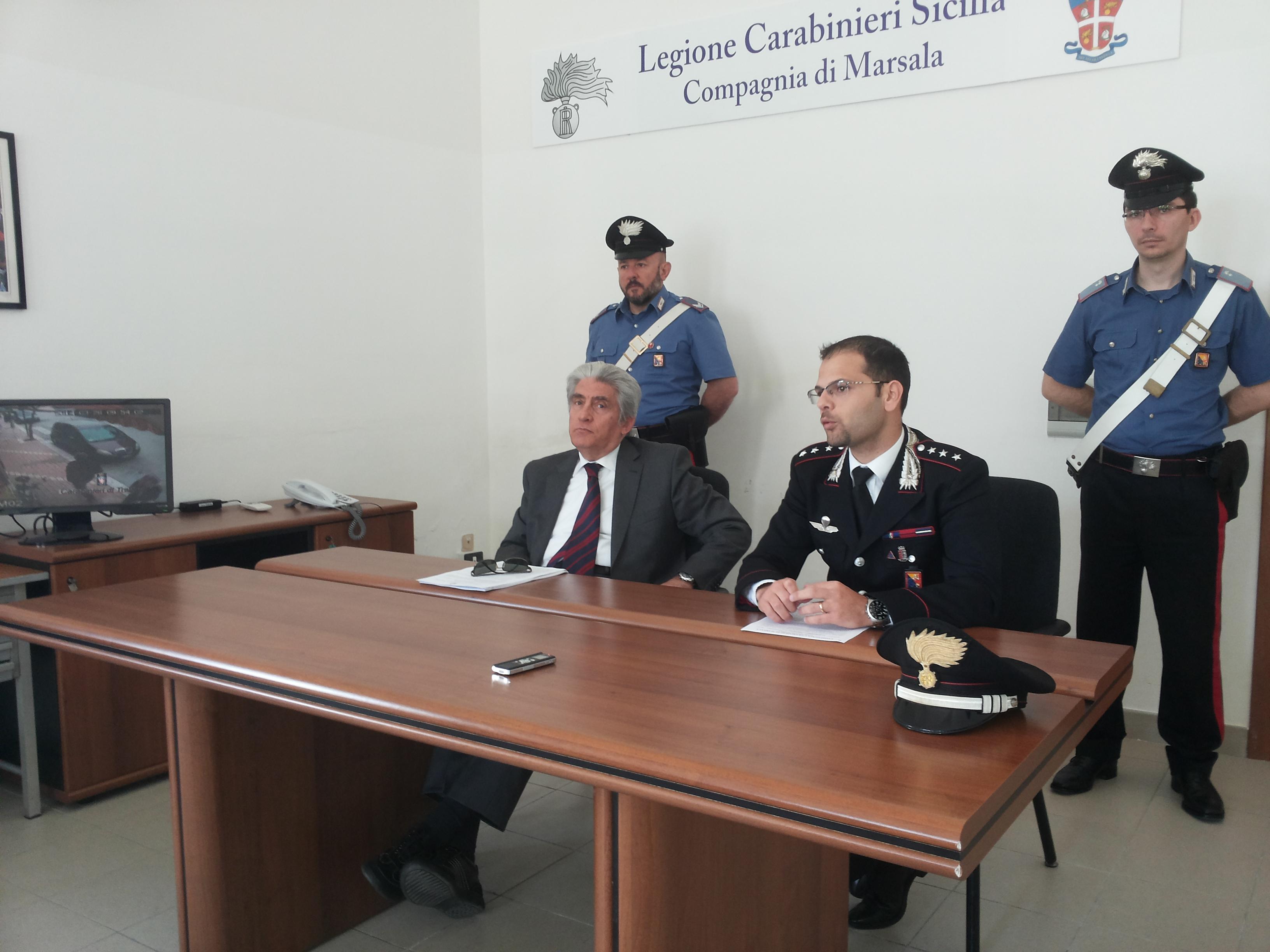Carabinieri: conclusa l'operazione che ha portato all'arresto dei responsabili della sparatoria ai danni di Giovanni Angileri
