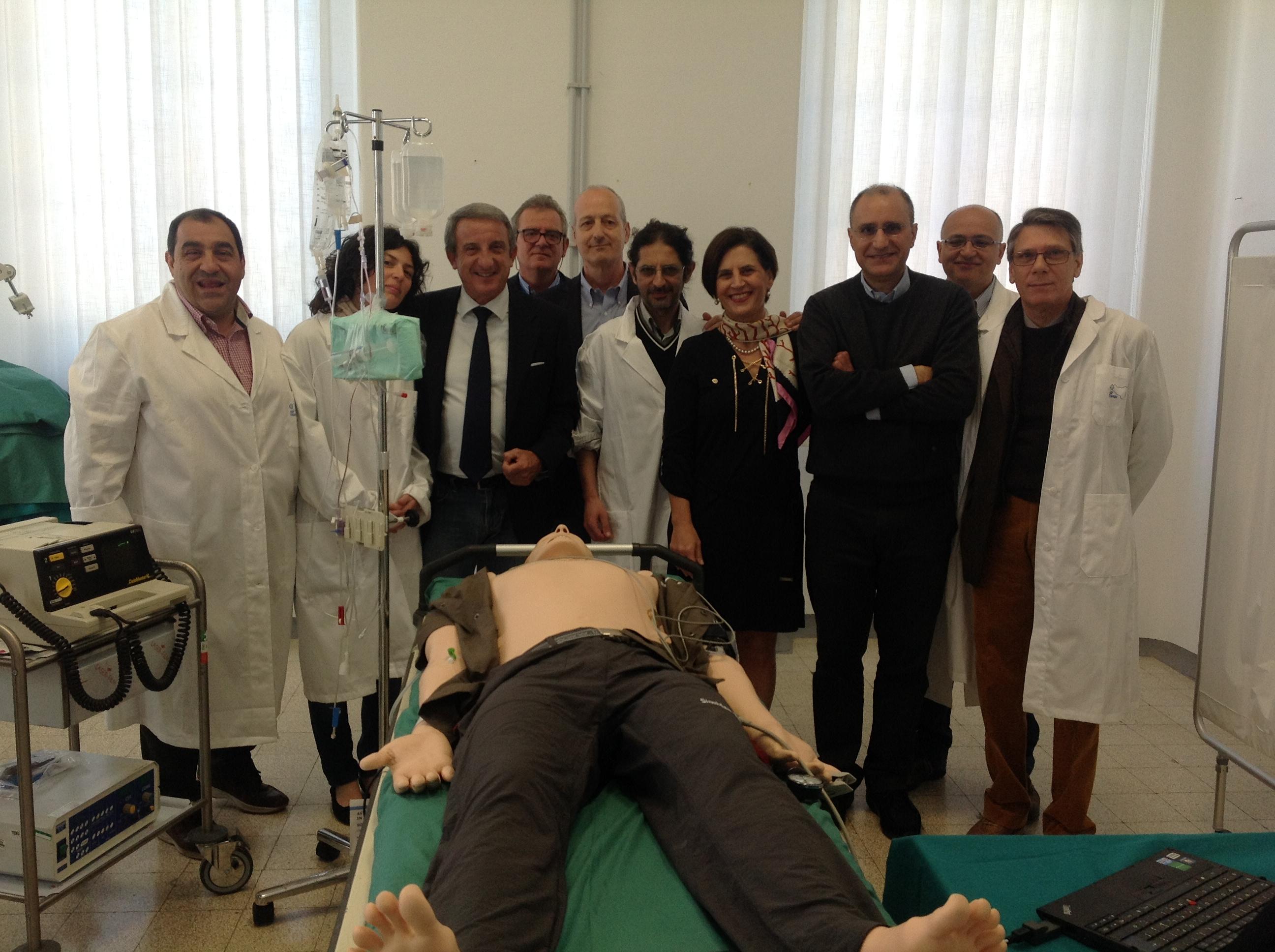 """""""Gestione delle Vie Aeree in Emergenza Sanitaria Territoriale"""" oggi il corso Asp"""