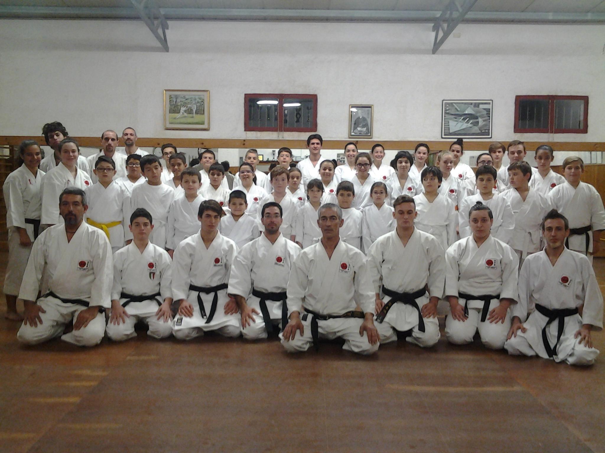 La Shotokan di Marsala si prepara per la Gara Internazionale di Mantova