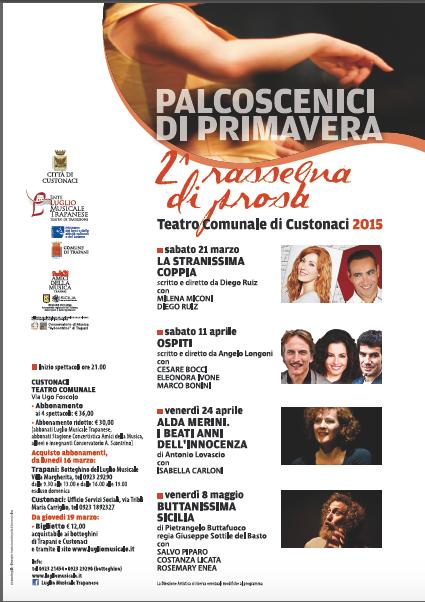 Primavera Teatro Custonaci
