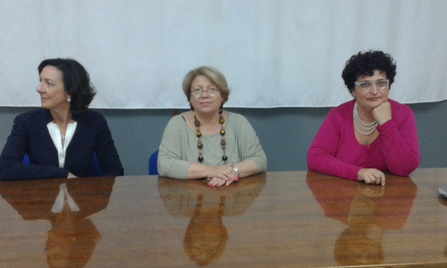 Il vice presidente della Regione Mariella Lo Bello in visita al Liceo Scientifico di Marsala