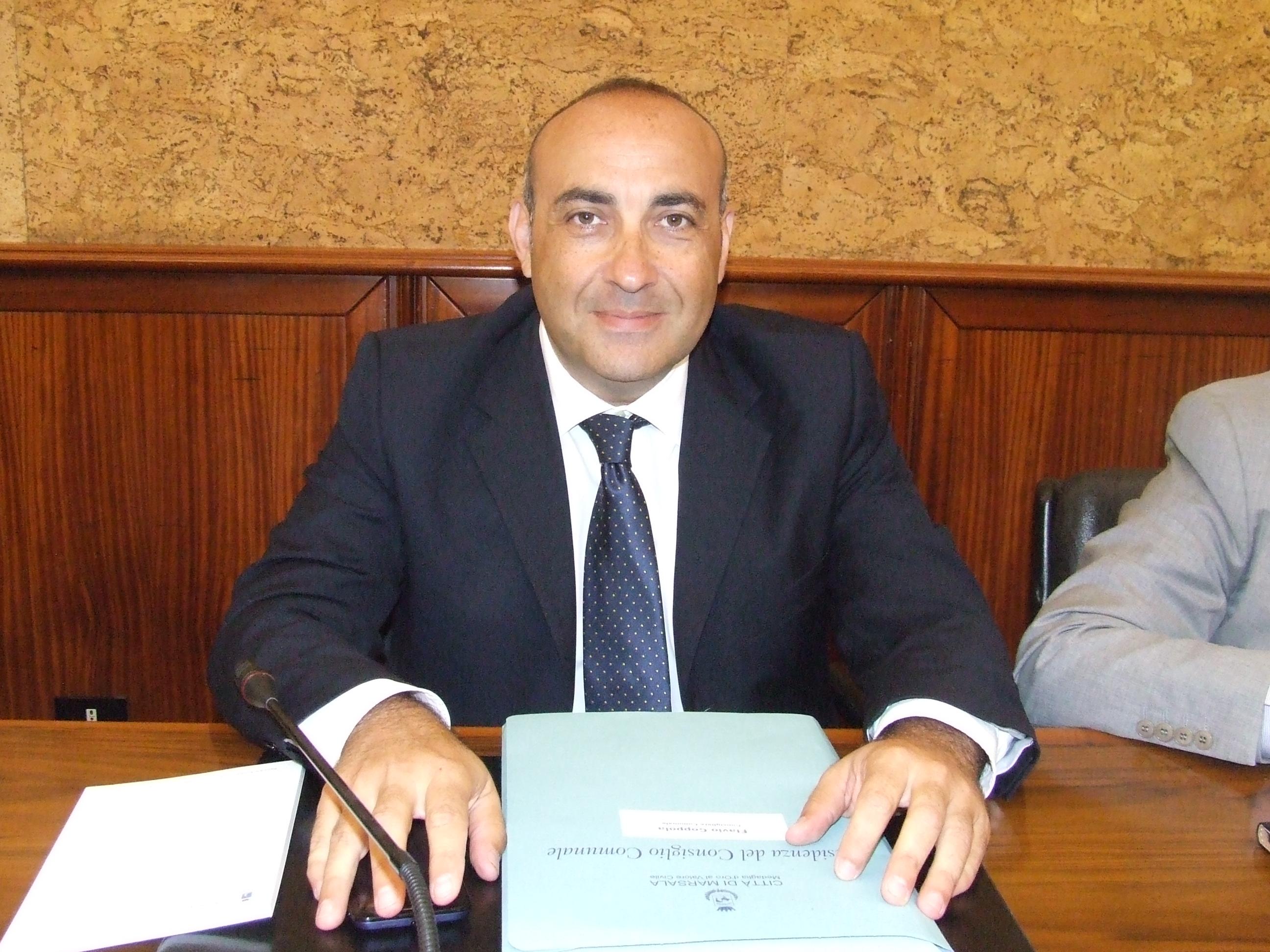 """Flavio Coppola: """"I moderati alla guida della città di Marsala nel prossimo quinquennio"""""""