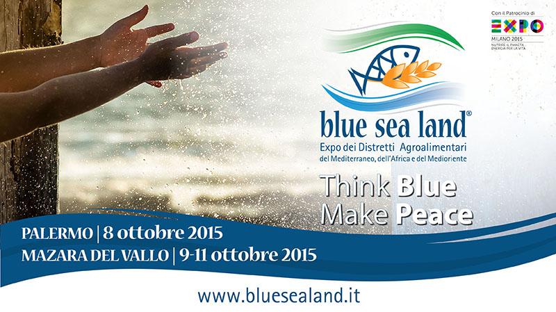 """Inizia oggi a Palermo """"Blue Sea Land"""". Da domani l'iniziativa si sposta a Mazara"""
