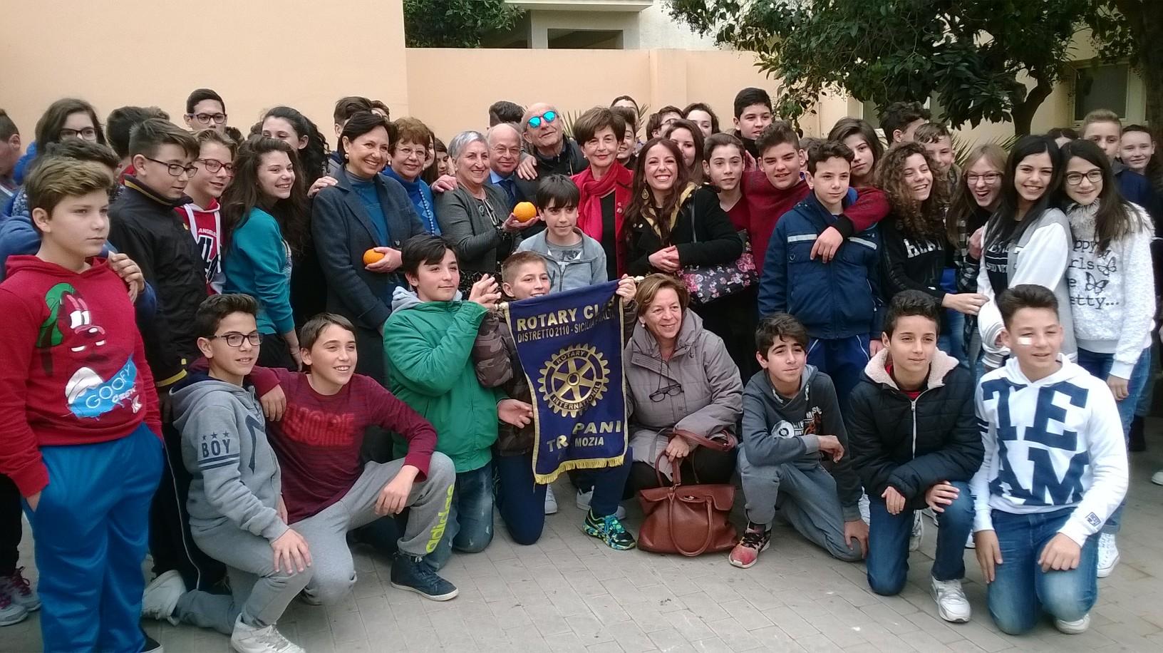 A Paceco la manifestazione per il 111° anniversario del Rotary International