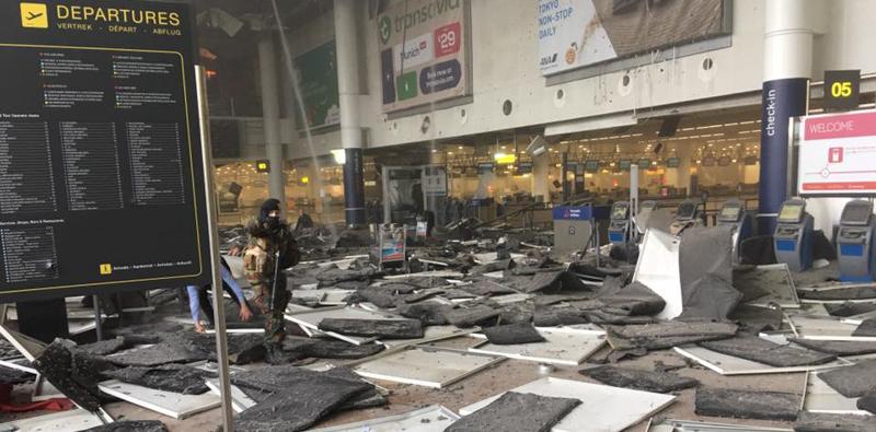 """Una testimonianza da Bruxelles, la marsalese Martina Ferracane racconta: """"Colpiti per ricordarci che non siamo al sicuro"""""""