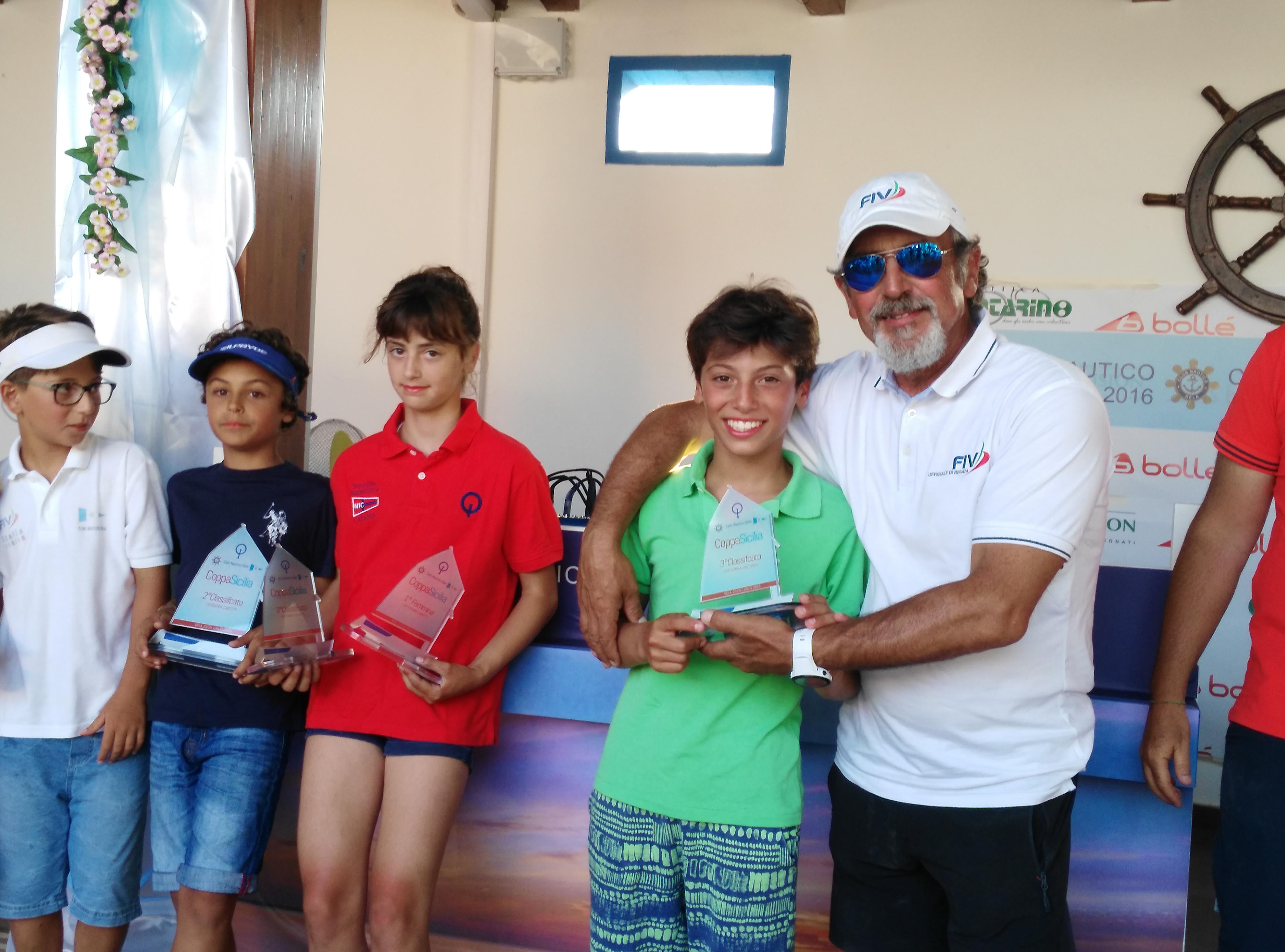 Coppa Sicilia: sul podio gli atleti della Canottieri Marsala