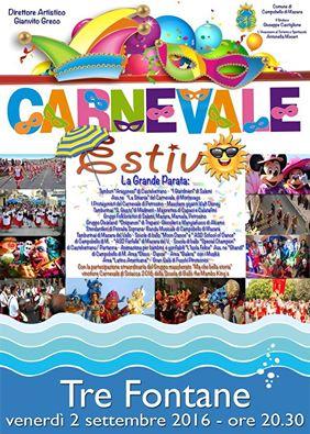 Campobello: a Tre Fontane in scena i carri e i colori del Carnevale estivo