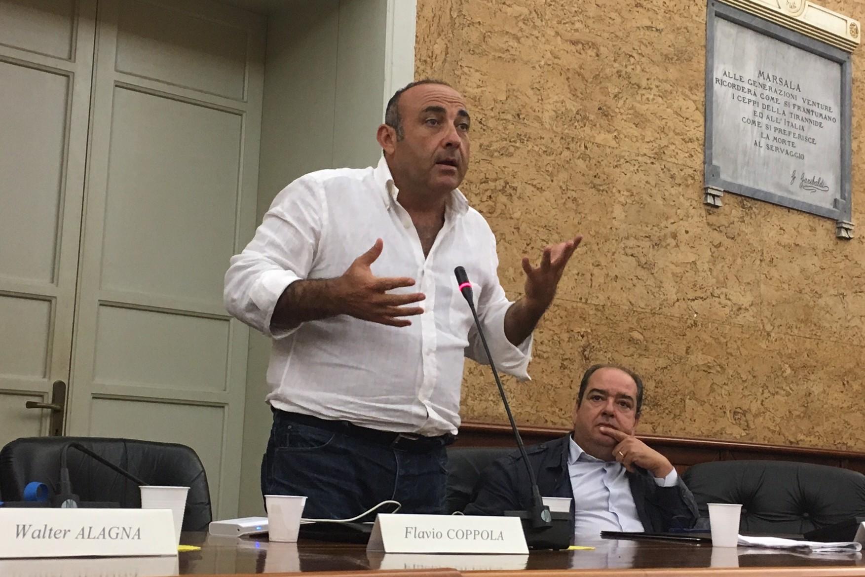 """Flavio Coppola: """"Sosterremo Nicola Fici. Dubbi sulla storia politica di Giulia Adamo"""""""