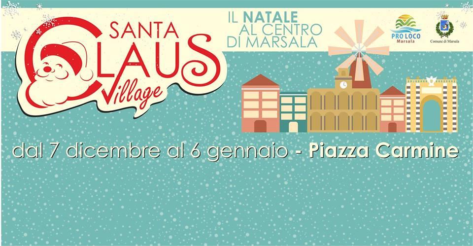 Domani arrivano le Befane al Santa Claus Village Marsala