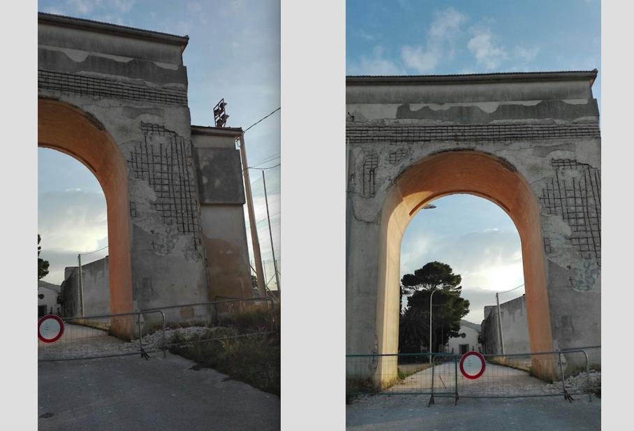 """Vietato l'ingresso al Borgo Livio Bassi di Ummari. Salone: """"pericolo per l'incolumità pubblica """""""