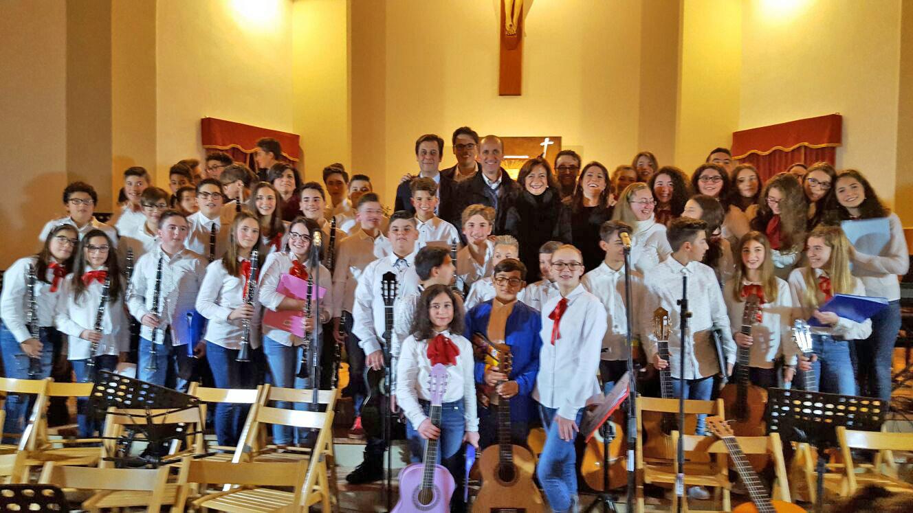 """Successo per il """"Concerto di Natale"""" dell'I.C. """"S.Pellegrino"""", il dirigente Pocorobba propone: """"l'amministrazione comunale dedichi una settimana tra maggio e giugno alle scuole marsalesi ad indirizzo musicale per esibizioni serali"""""""