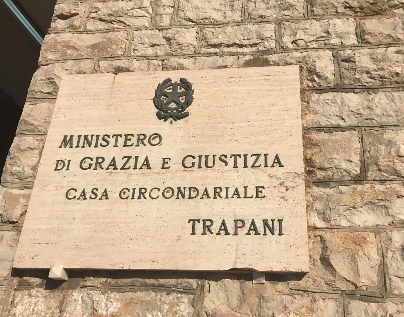 Un caso di Covid al carcere di Trapani, scatta il protocollo sanitario