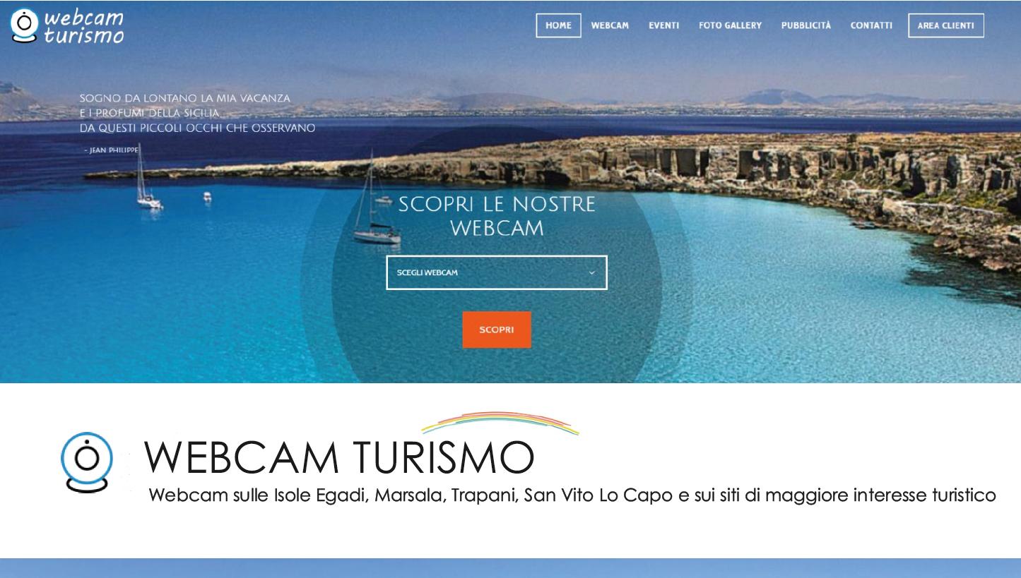 """Nasce """"Webcam Turismo"""": una finestra online sulle bellezze del territorio in provincia di Trapani"""