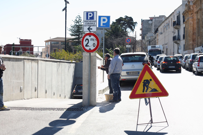 Alcamo: riapre il parcheggio di piazza Bagolino. Operativo da lunedì il telecontrollo per l'erogazione idrica