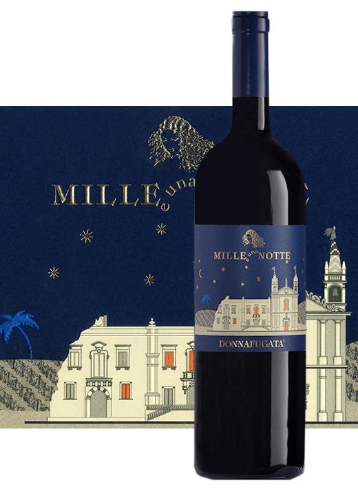Il vino Sicilia Mille e Una Notte 2011 di Donnafugata selezionato al Grand Tour 2017