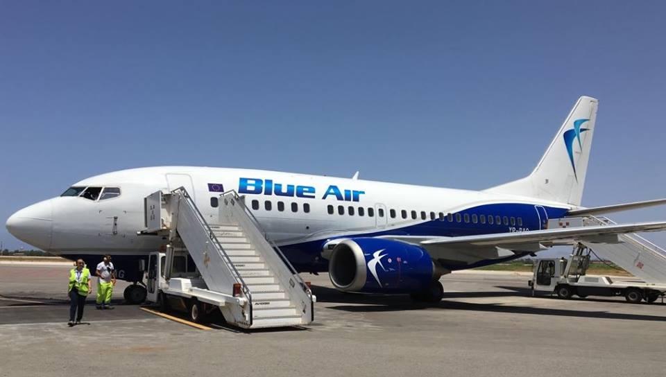 Blue Air inaugura il nuovo volo Torino – Trapani e scommette sullo scalo di Birgi