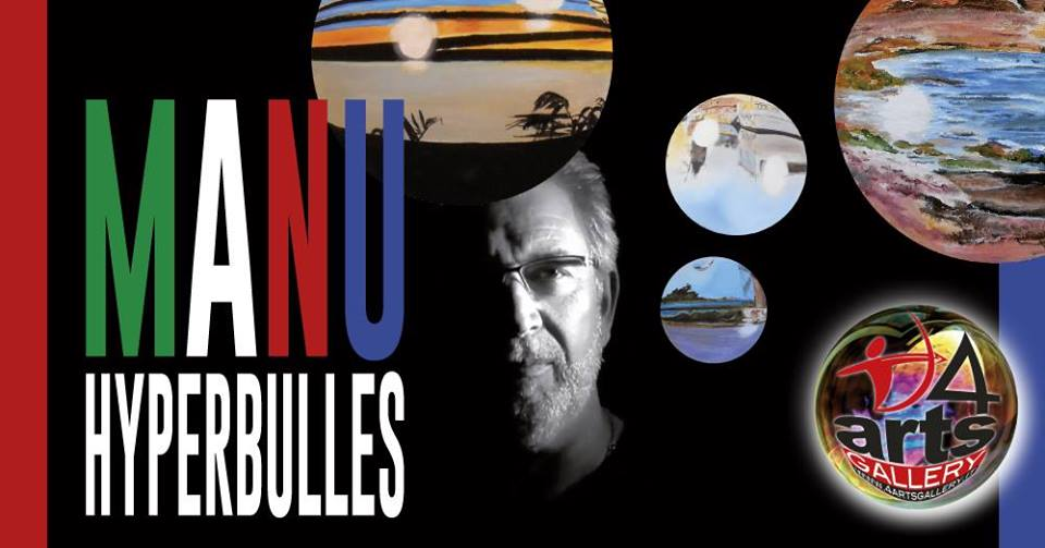 MANU HYPERBULLES! In 4ARTS Gallery dal 24 Settembre al 15 Ottobre