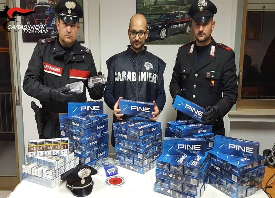 Droga e contrabbando di sigarette a Mazara: due arresti