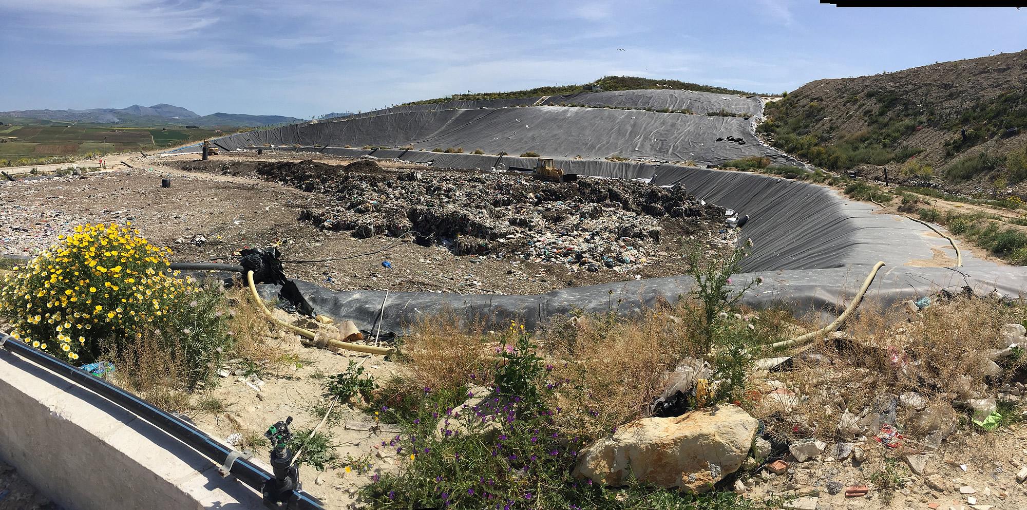 Dopo la chiusura della discarica di Bellolampo, arrivano a Trapani i rifiuti di Palermo