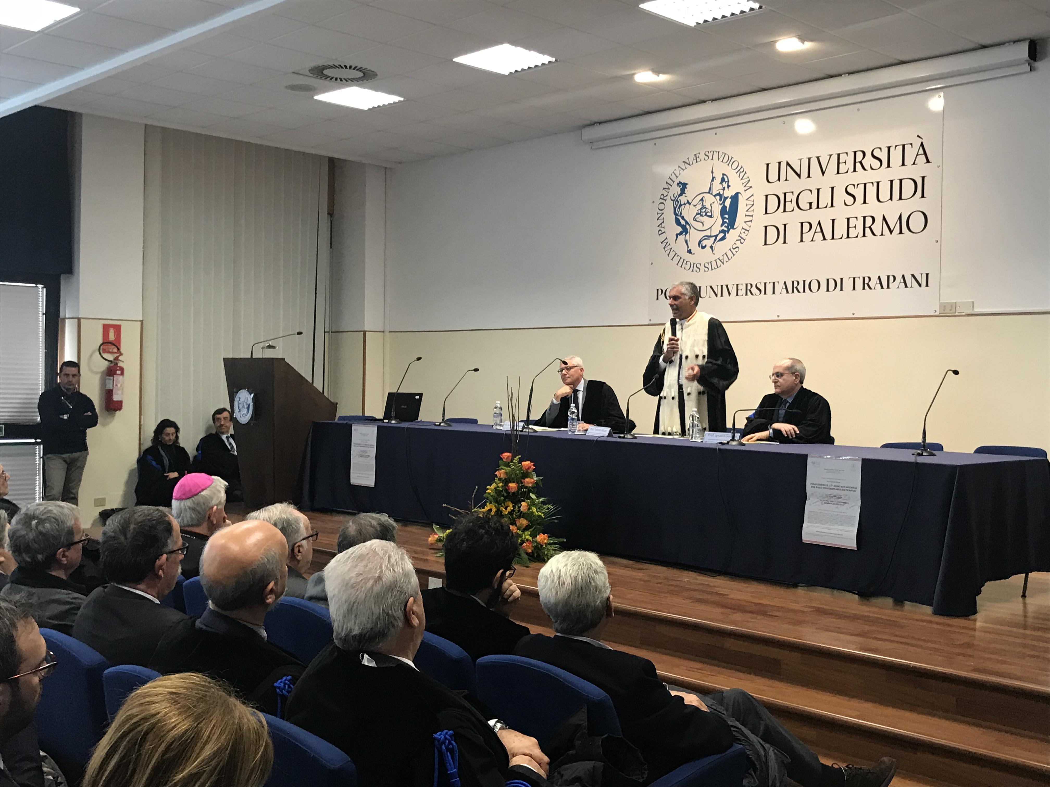 """Inaugurazione dell'anno accademico, Micari: """"l'Università è motore per la crescita del territorio"""""""