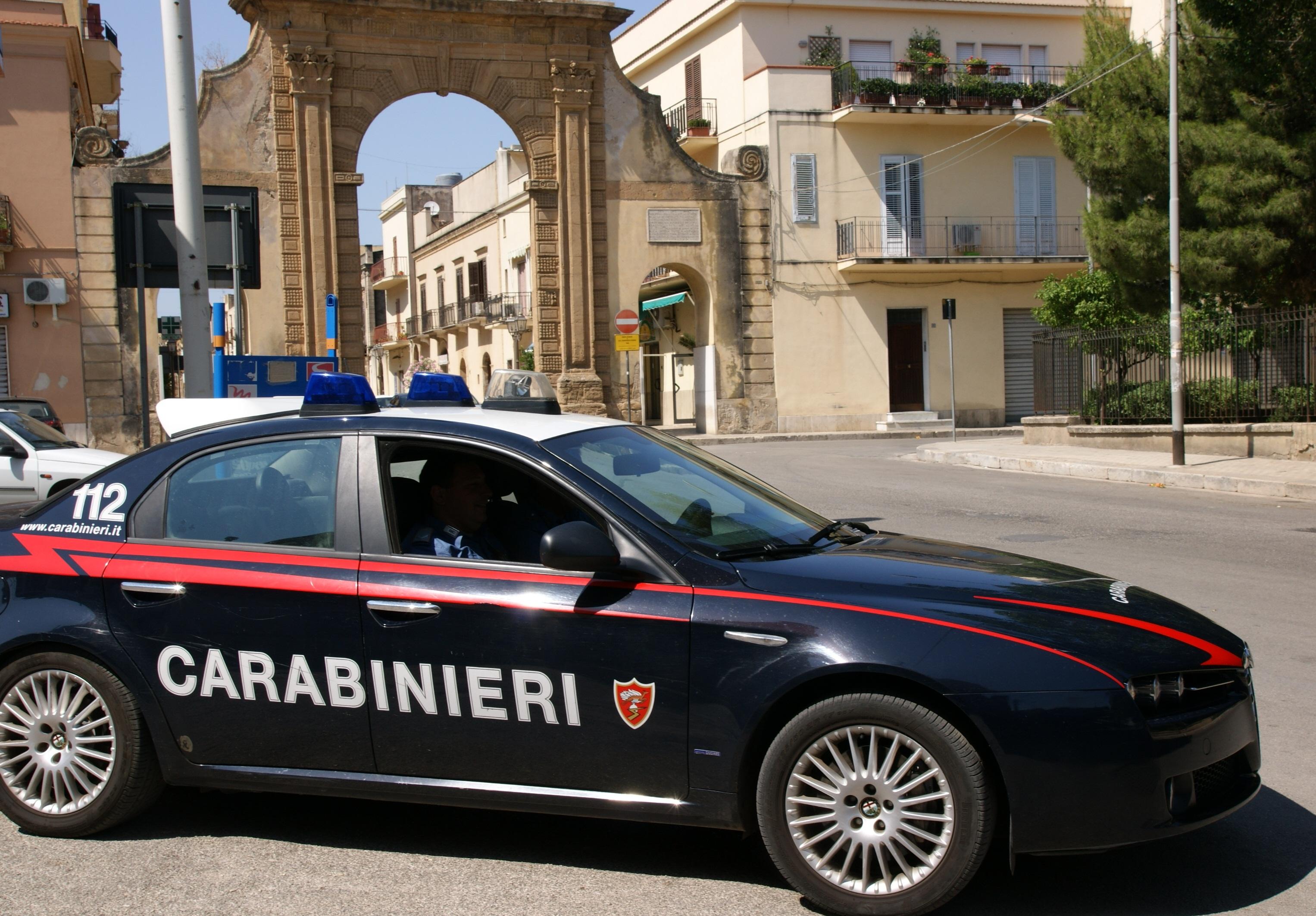 Castelvetrano e Partanna i carabinieri operano tre arresti
