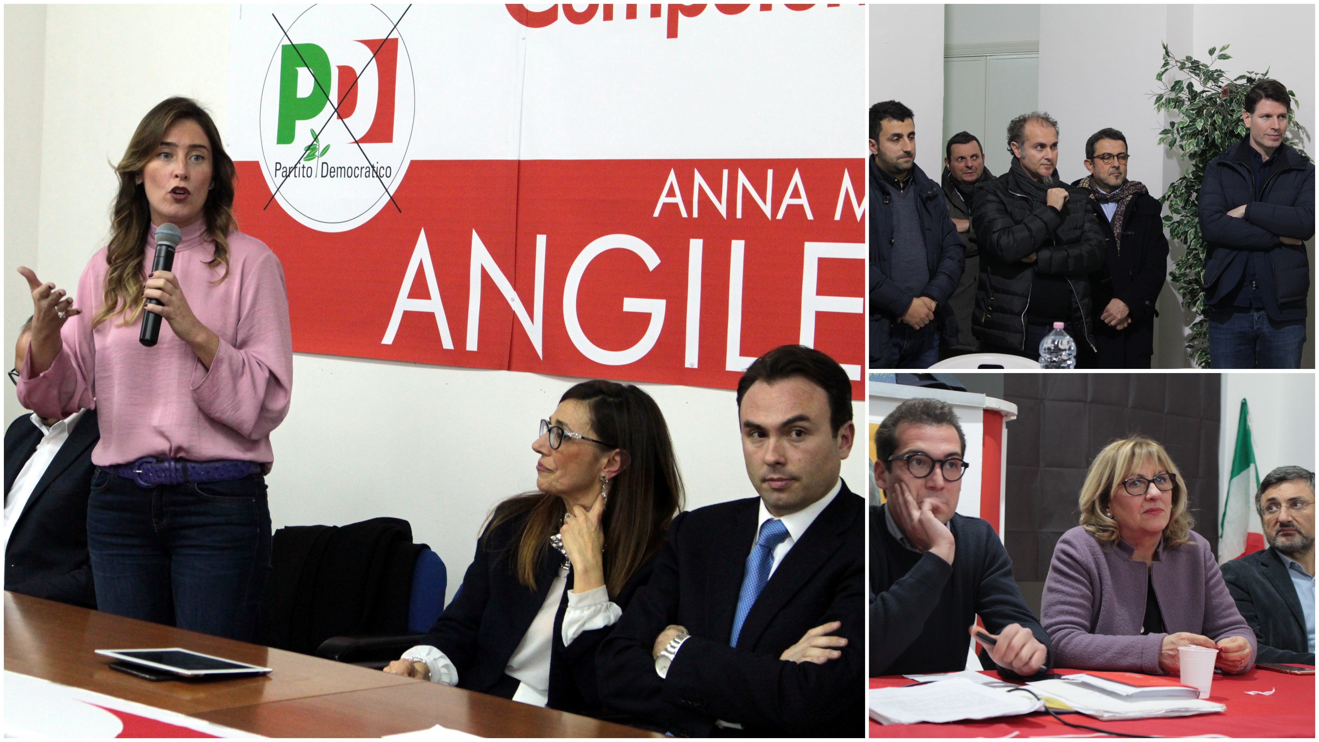 Politiche 2018: a Marsala un venerdì di passione con i candidati di LeU, la Boschi dalla Angileri, Corrao con la Aiello