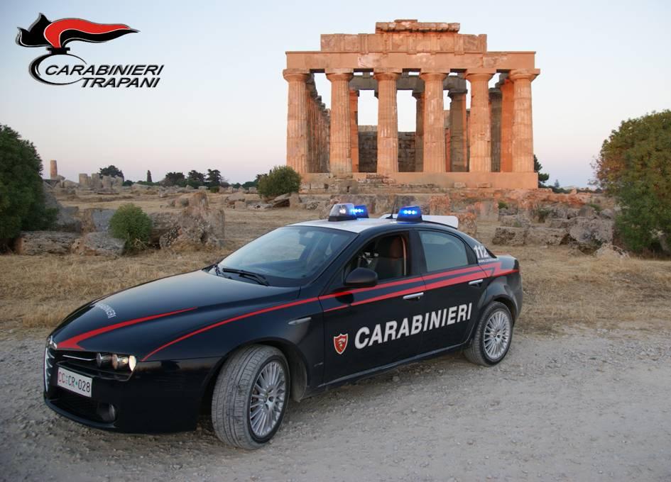 Castelvetrano, i carabinieri effettuano due arresti