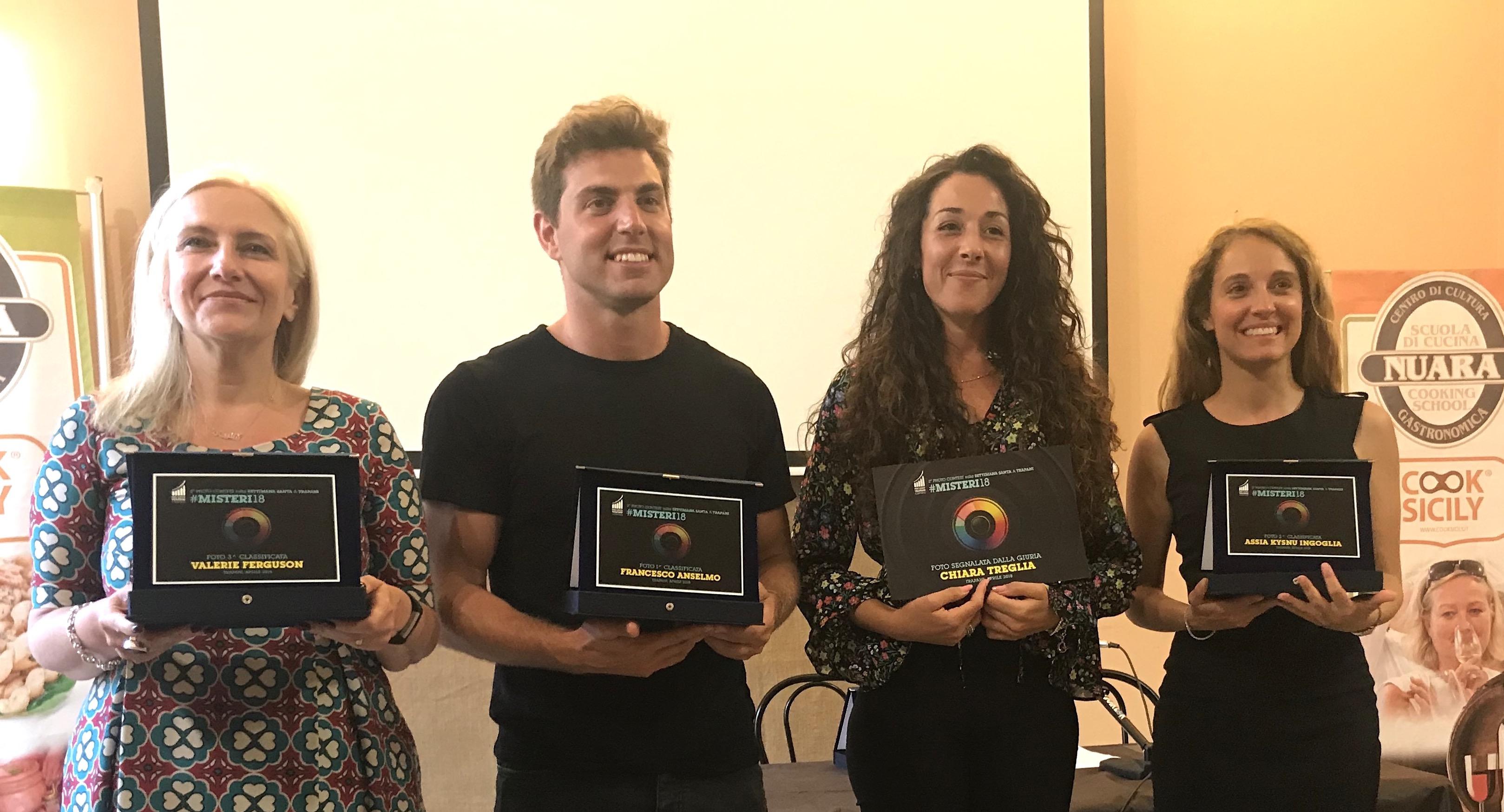 Pro Loco Trapani Centro: premiati i vincitori del contest fotografico #Misteri18