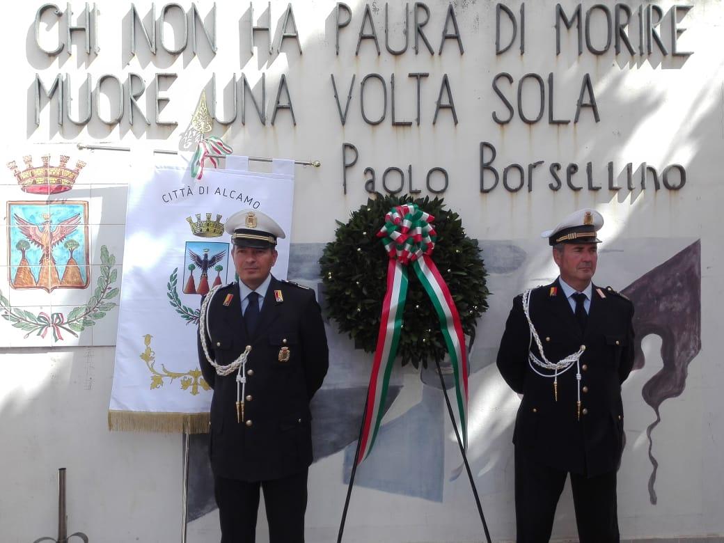 """Anche ad Alcamo la commemorazione della strage di Via D'Amelio. """"Lotta alla mafia sia priorità per le istituzioni"""""""