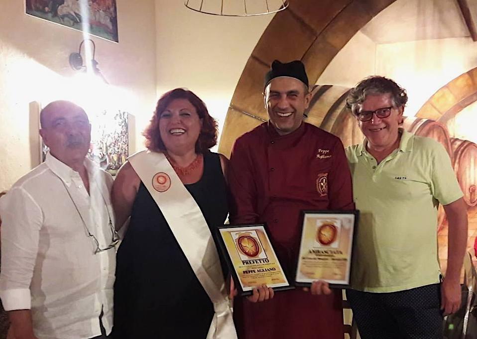 Marsala: riconoscimento per lo chef Peppe Agliano