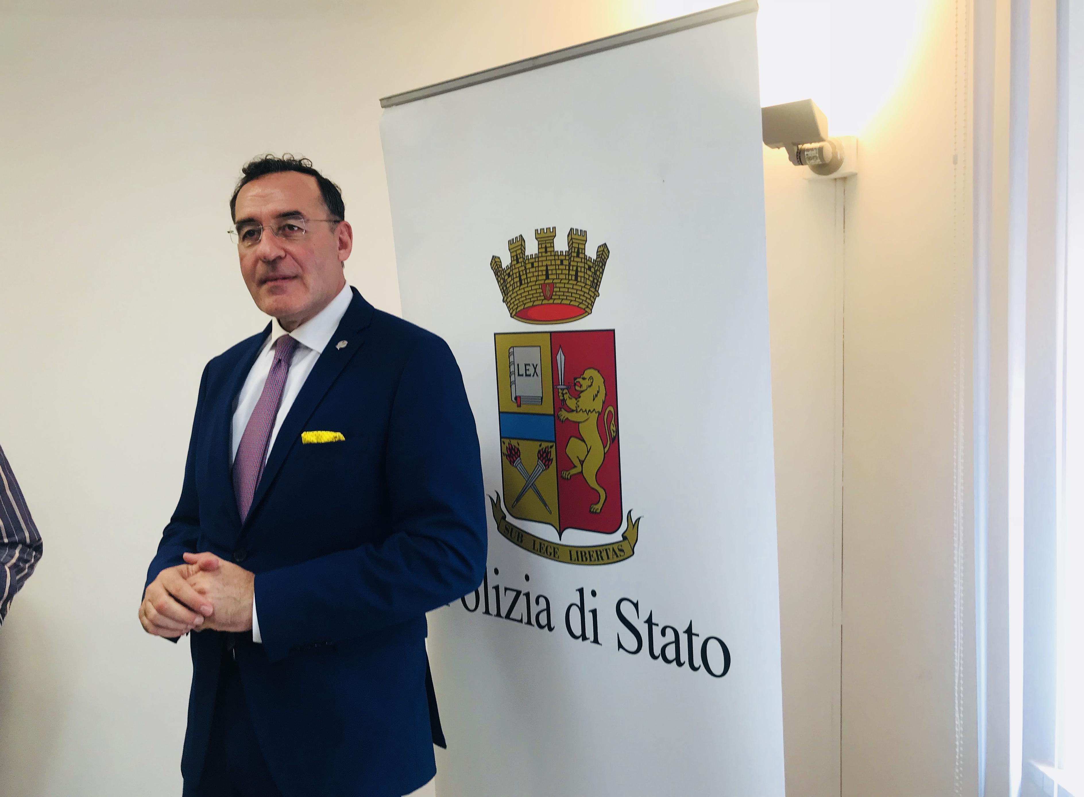 """Il nuovo Questore di Trapani Claudio Sanfilippo: """"felice di tornare in Sicilia, lavoreremo con tenacia e trasparenza"""""""