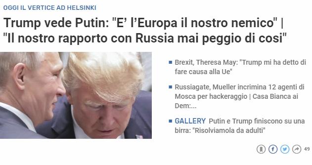 L'urgenza dell'europeismo