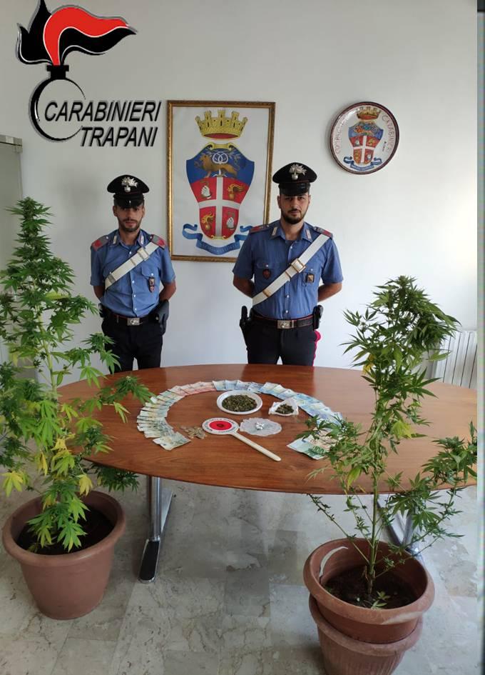 Spacciatore palermitano arrestato a Castellammare del Golfo