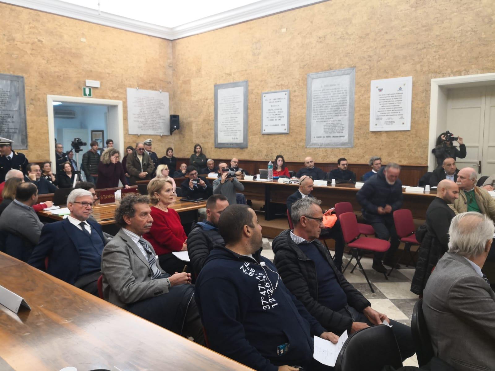 """Porto di Marsala: seduta aperta incentrata sul """"giallo"""" del progetto pubblico e sui ritardi del privato"""