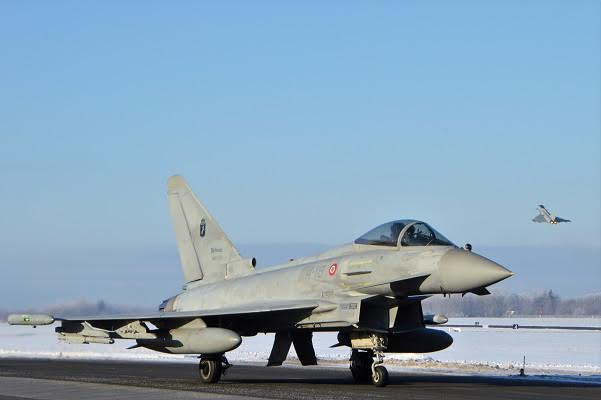 Birgi: sensore di Eurofighter disperso, interdetto fino a febbraio tratto di mare