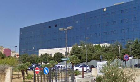 Lavori di manutenzione all'elisuperficie dell'Ospedale di Castelvetrano