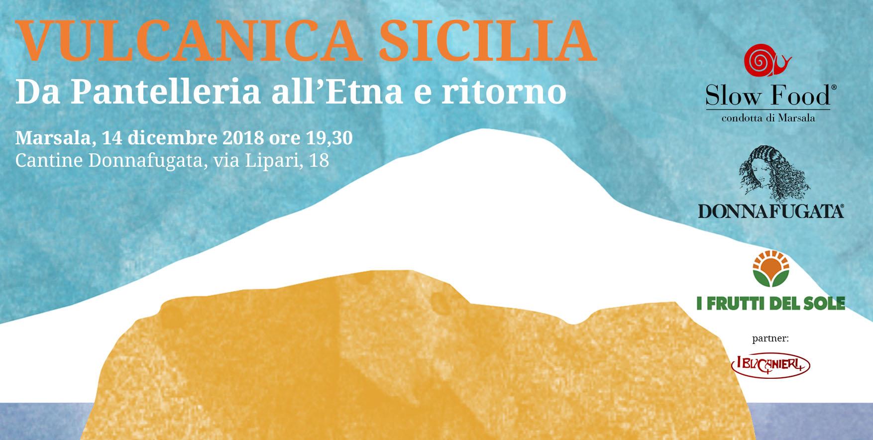 Vulcanica Sicilia, excursus di storia ed enogastronomia stasera alle Cantine Donnafugata