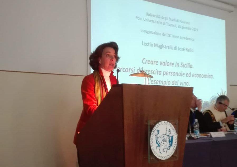 Josè Rallo ha aperto l'anno accademico al Polo di Trapani con una lectio magistralis su come creare valore in Sicilia
