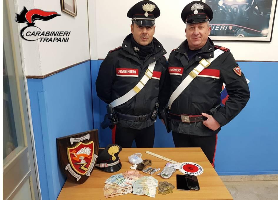 Trapani: giro di cocaina nel quartiere Sant'Alberto, un arresto