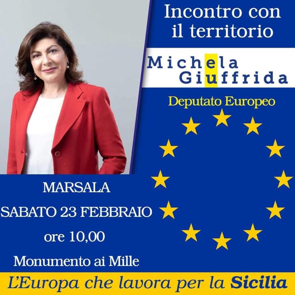 L'europarlamentare Giuffrida al Monumento dei Mille per parlare di UE e Sicilia