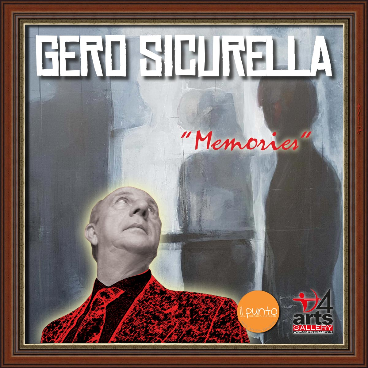 """Memories: Gero Sicurella """"One day only"""" in 4ARTS Gallery"""