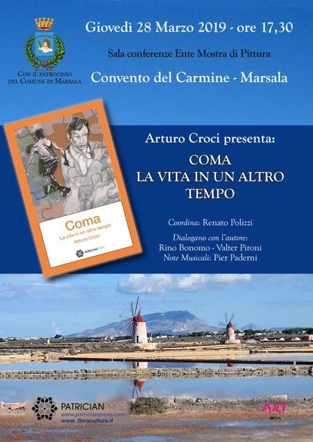 """Al Convento del Carmine Arturo Croci racconta il suo libro """"Coma"""""""