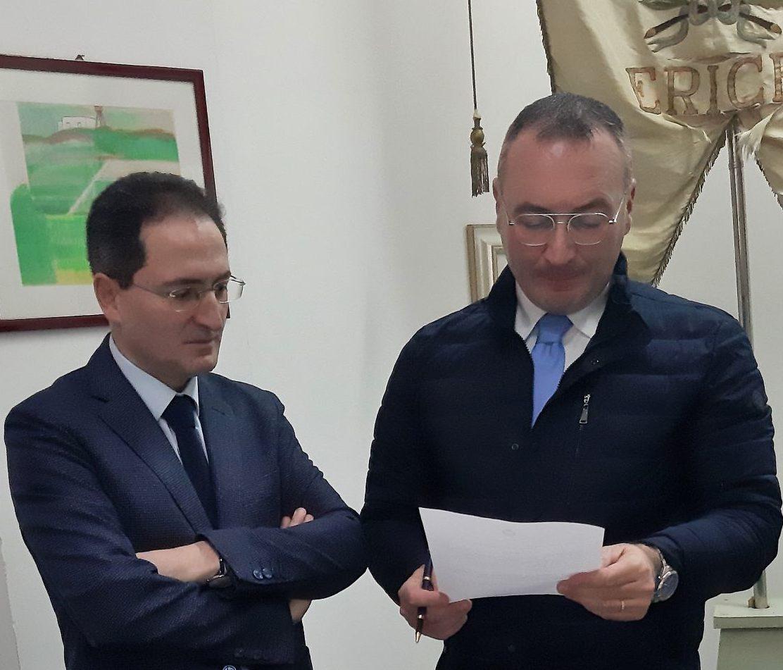 Erice, il nuovo assessore ai lavori pubblici è Luigi De Vincenzi