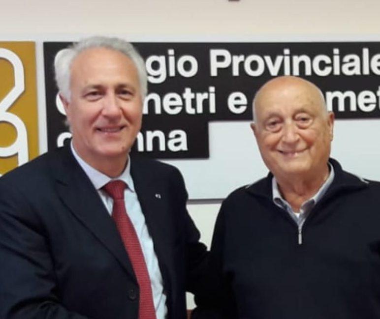 Francesco Parrinello nuovo presidente della Consulta regionale dei Geometri