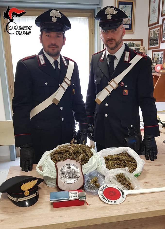 Mazara, i carabinieri arrestano uno spacciatore