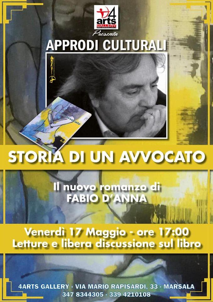 Il nuovo romanzo di Fabio D'Anna a 4Arts Gallery