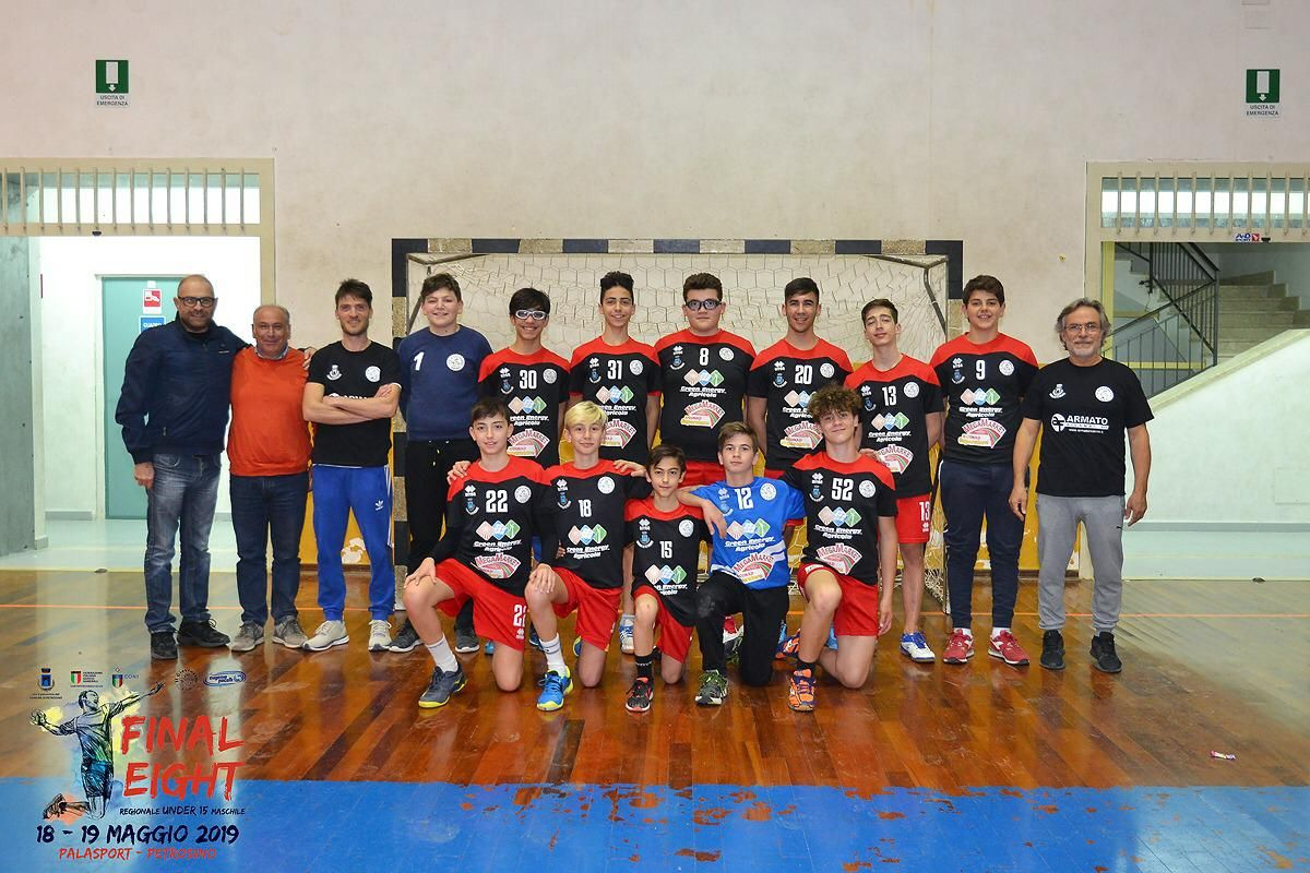 Petrosino: al via la Final Eight Regionale Under 15 maschile di Pallamano