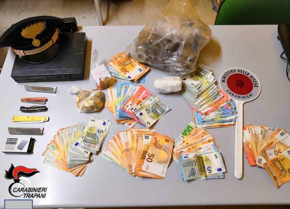 Droga, due arresti operati dai carabinieri