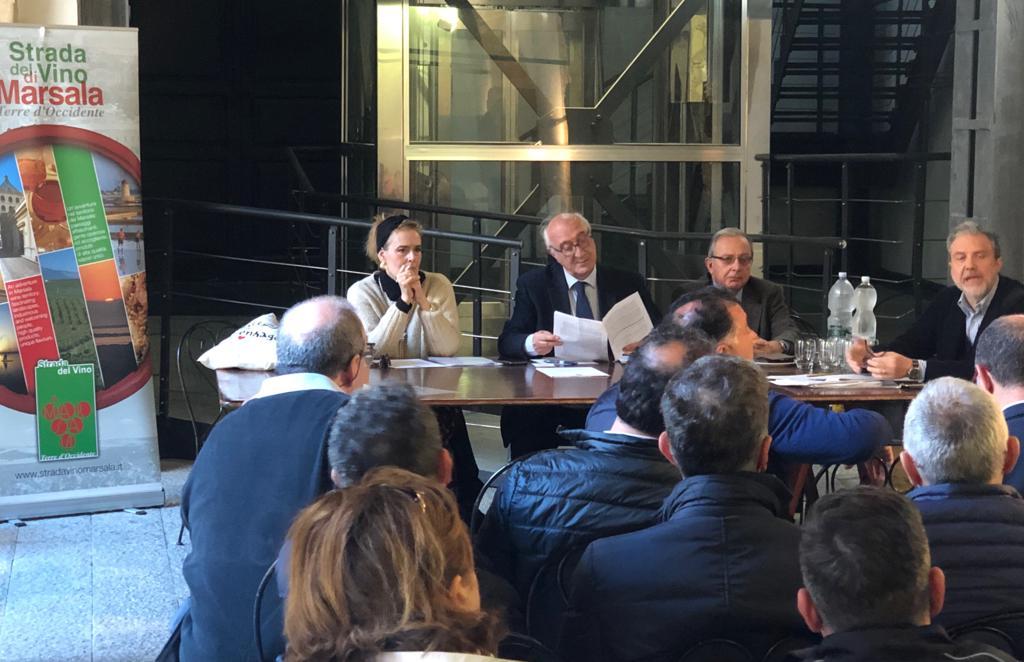 Verso la ricostituzione del Consorzio Vino Marsala, incontro con il direttore Panont